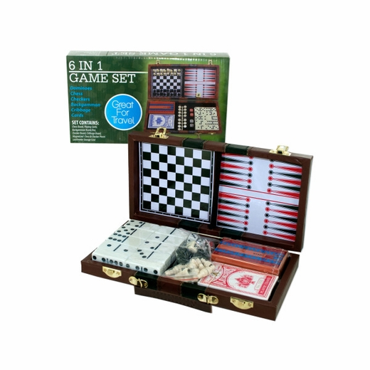 6 In 1 Travel Game