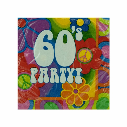 60s Party Napkins