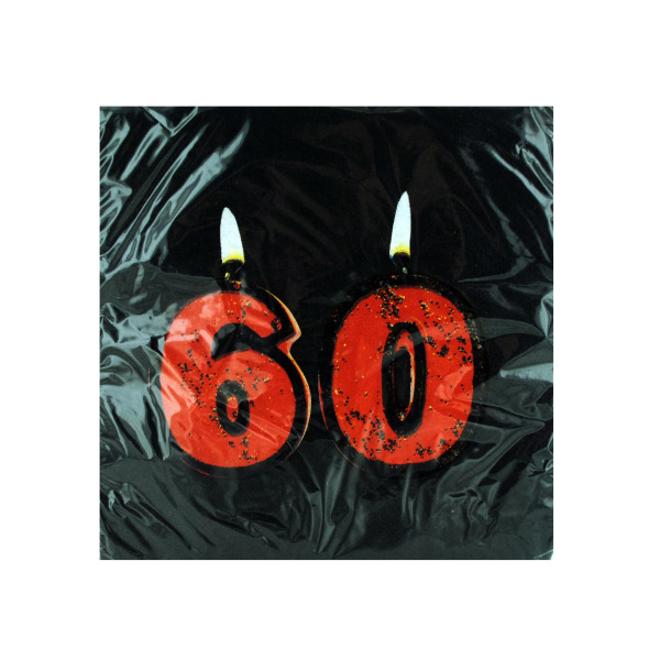 60th Birthday Napkins
