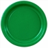 Green Paper Plates - 8 5/8""