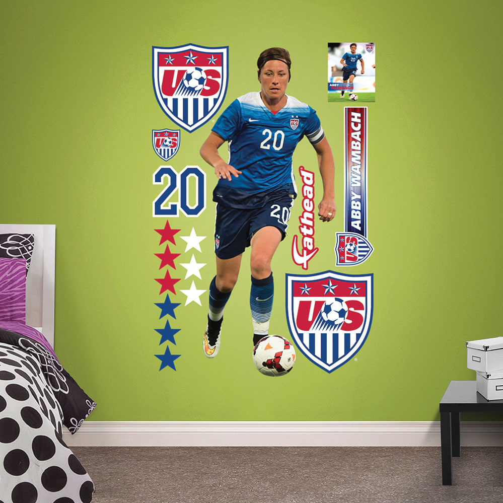 Abby Wambach Fathead Wall Decals