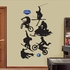 Action Sports Silhouettes-Fathead