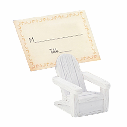 Adirondack Chair Place Card Holder