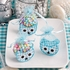 Adorable Owl Baskets-Blue