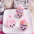Adorable Owl Baskets-Pink