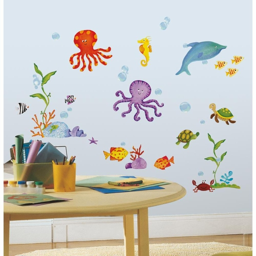 Adventures Under the Sea Peel And Stick Decal