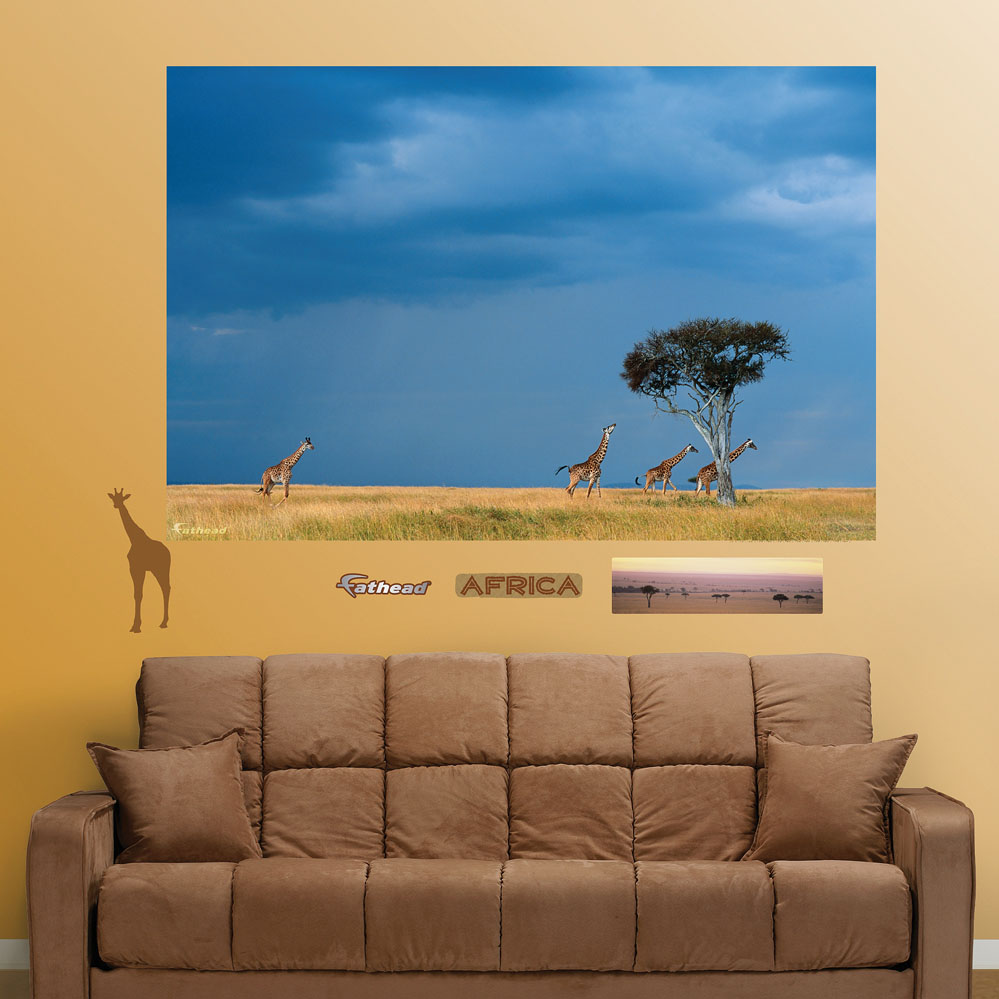 African Savanna Mural REALBIG Wall Decal