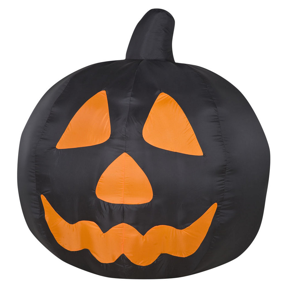 Airblown Black Pumpkin