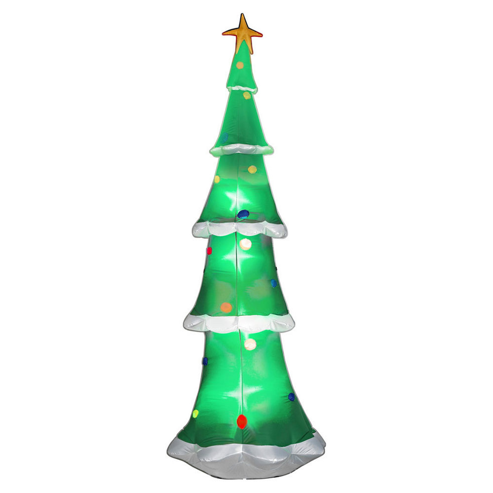 Airblown Sky High Christmas Tree