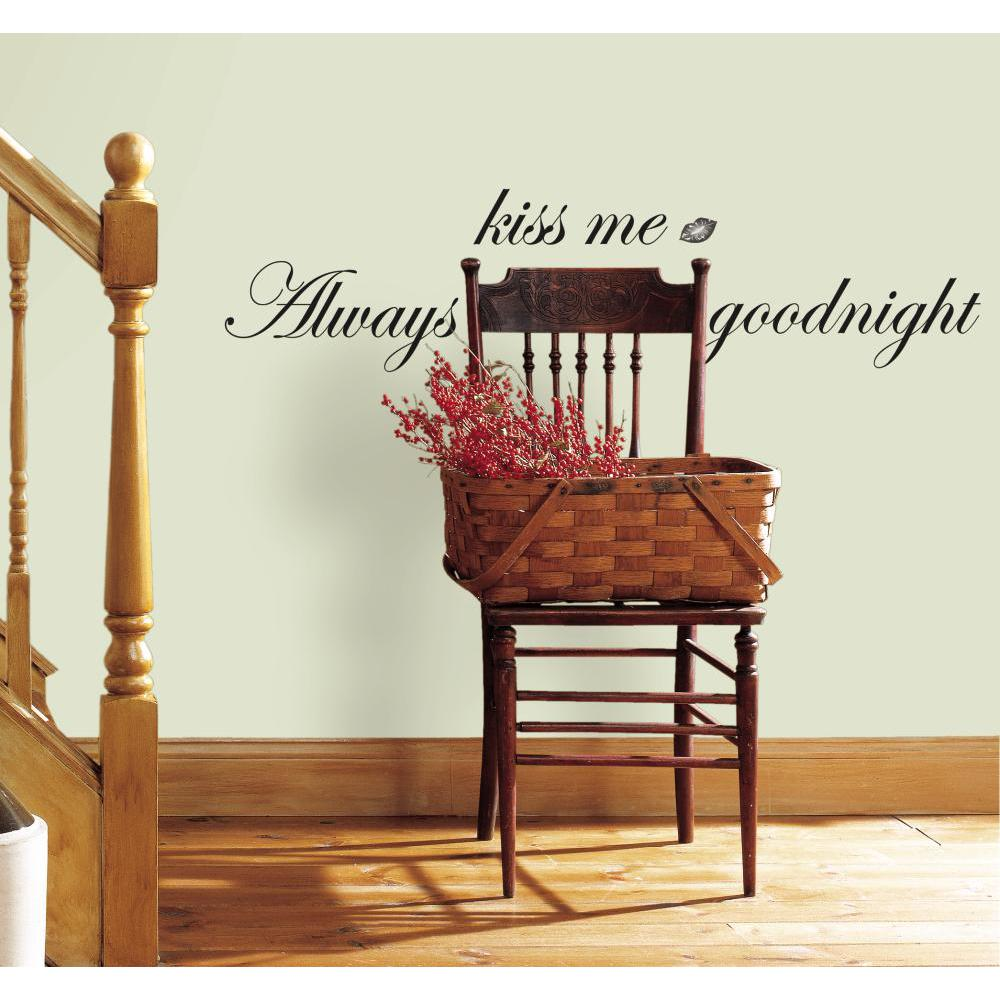 Always Kiss Me Goodnight Single Sheet