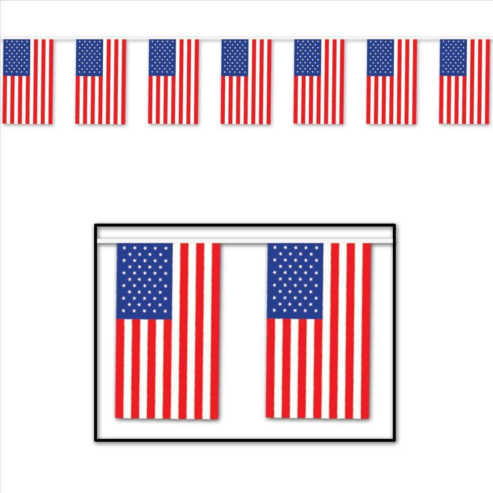 Election Party Decorations 2-Pack Beistle America Streamer Patriotic