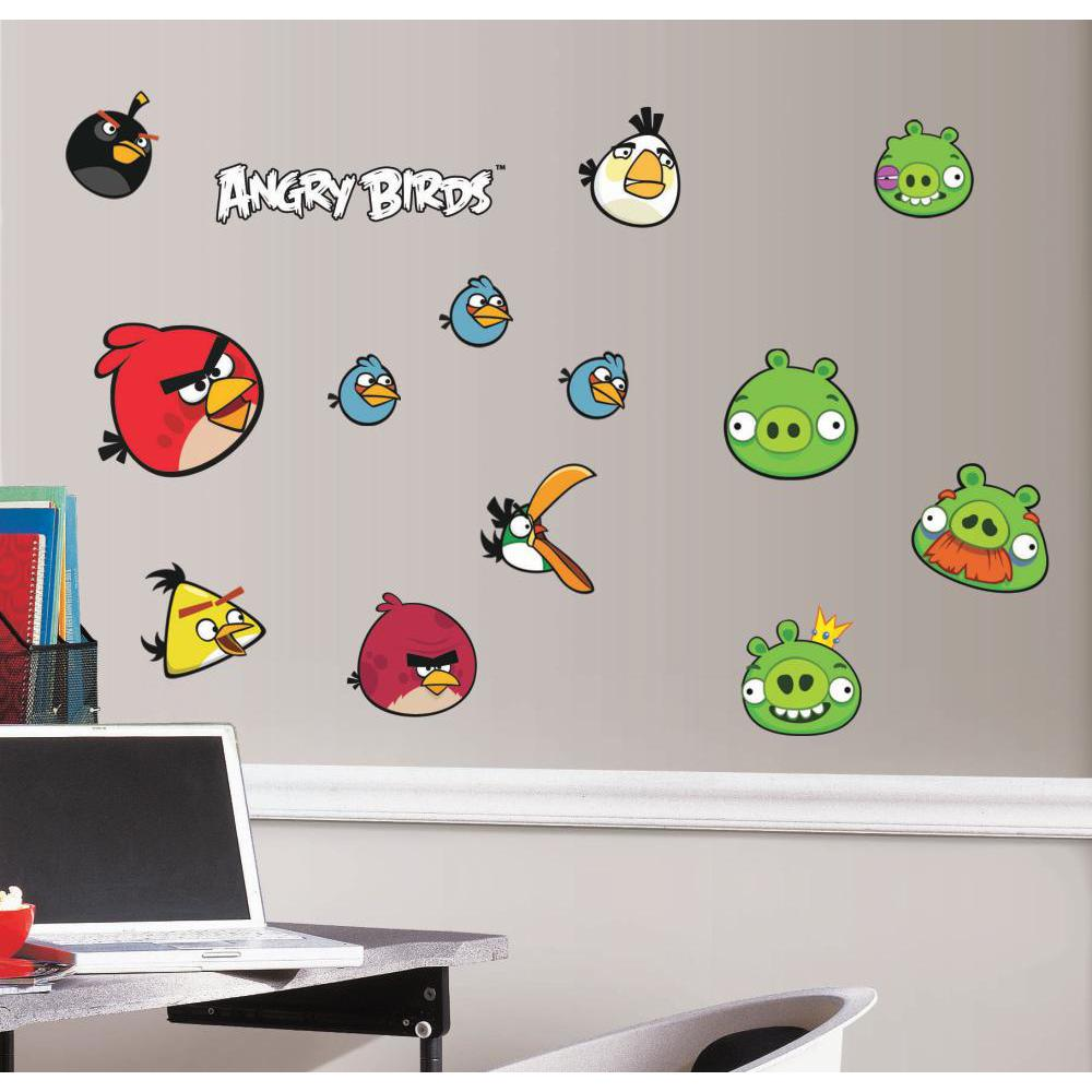 Angry Birds Peel And Stick Decal