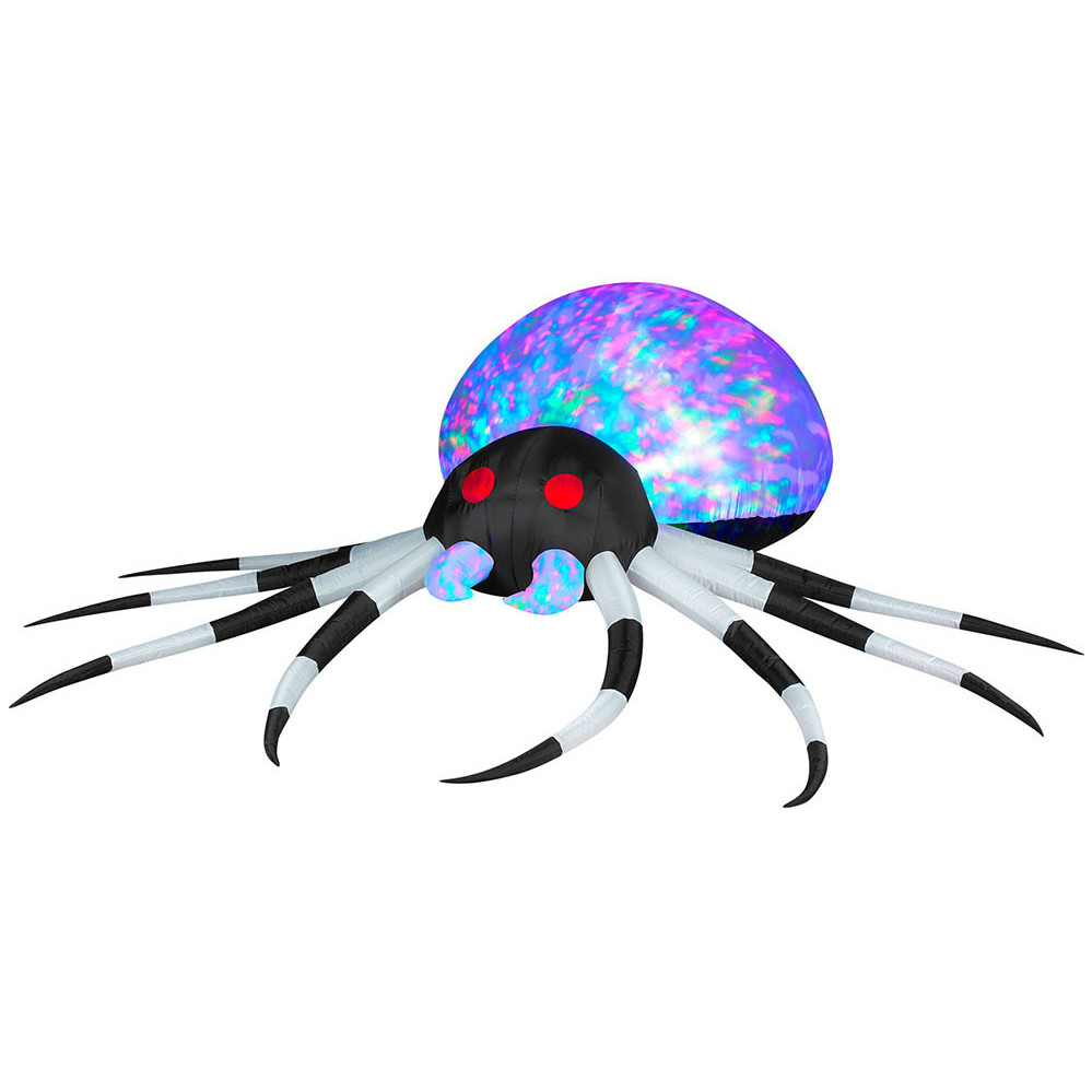 Projection Airblown Kaleidoscope Spider