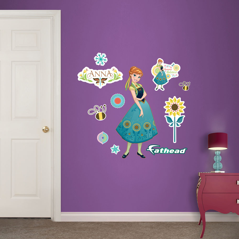 Anna Frozen Fever Fathead Junior Wall Decals