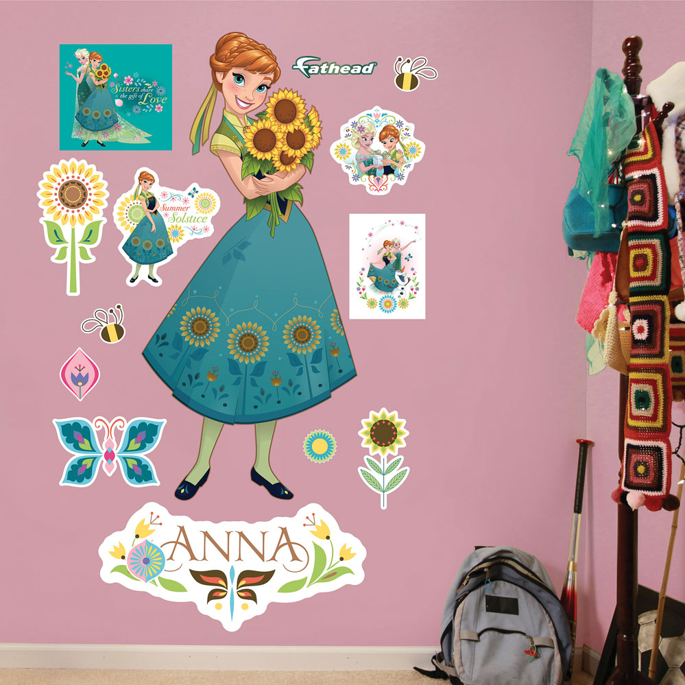 Anna Frozen Fever Fathead Wall Decals