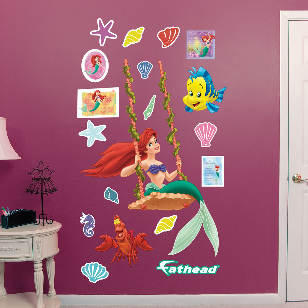 Ariel Swinging REALBIG Wall Decal