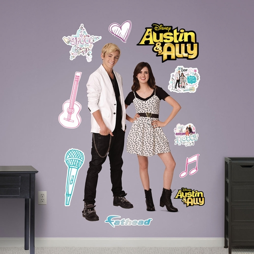 Austin And Ally Group REALBIG Wall Decal
