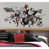 Avengers Assemble Black And White Graphic Decal