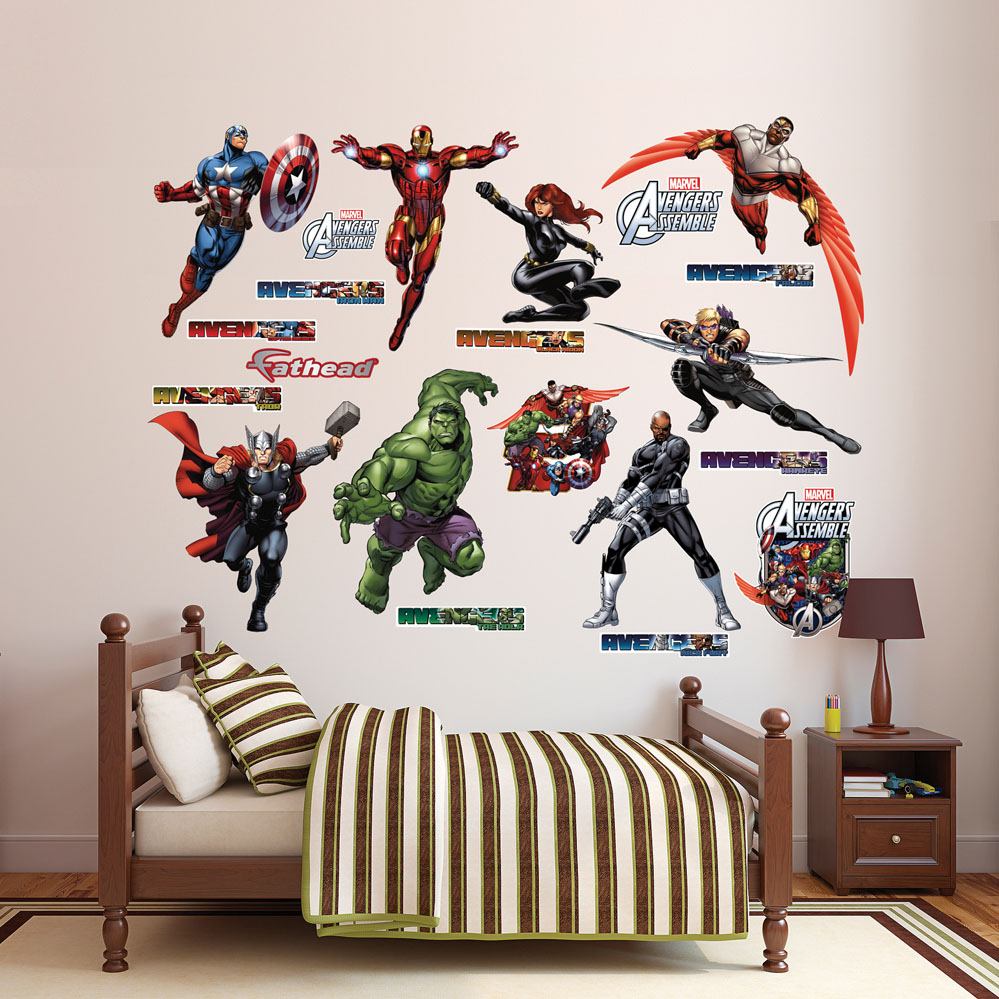 Avengers Assemble Collection REALBIG Wall Decal