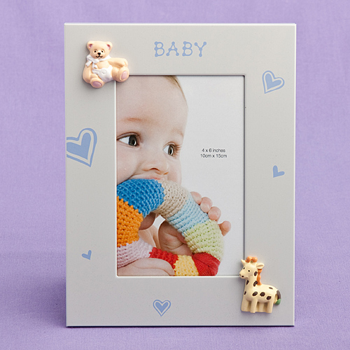 """Baby Boy Picture  Frame 4"""" X 6"""""""