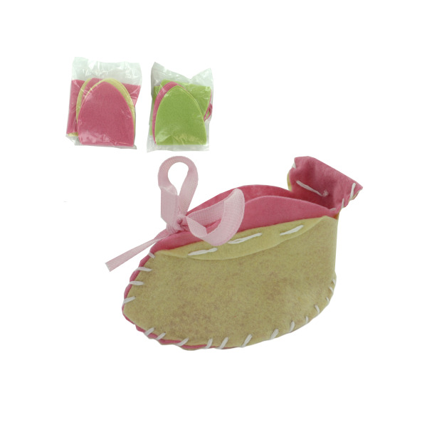 Baby Girl Booties Craft Kit