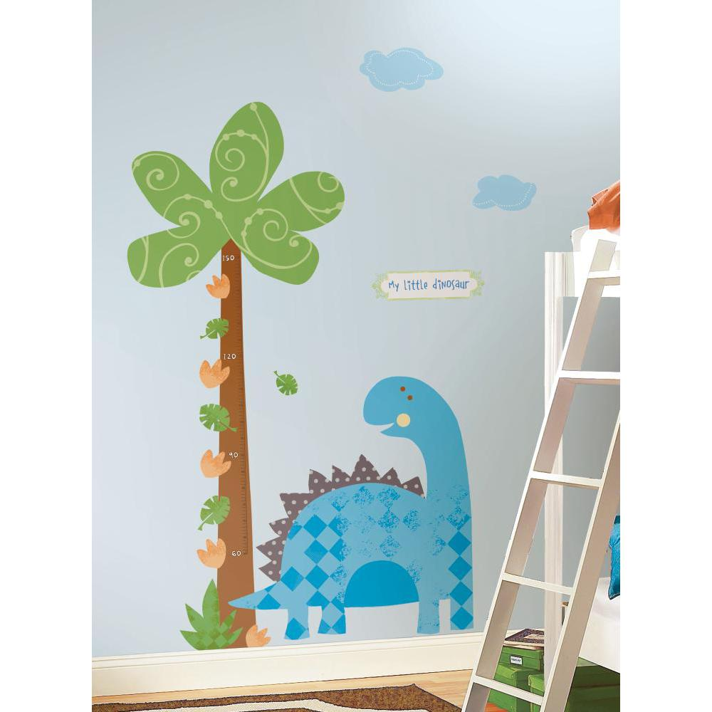Babysaurus Peel And Stick METRIC Growth Chart