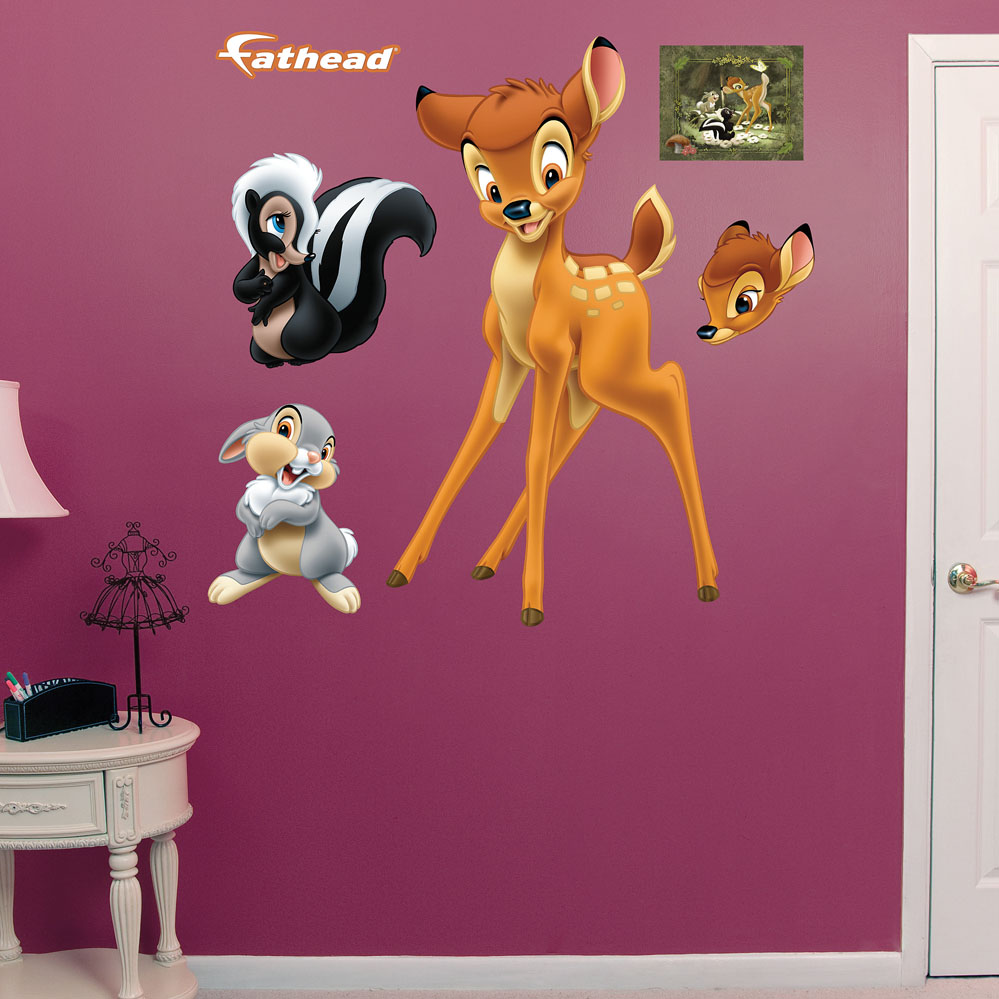 Bambi and Friends REALBIG Wall Decal