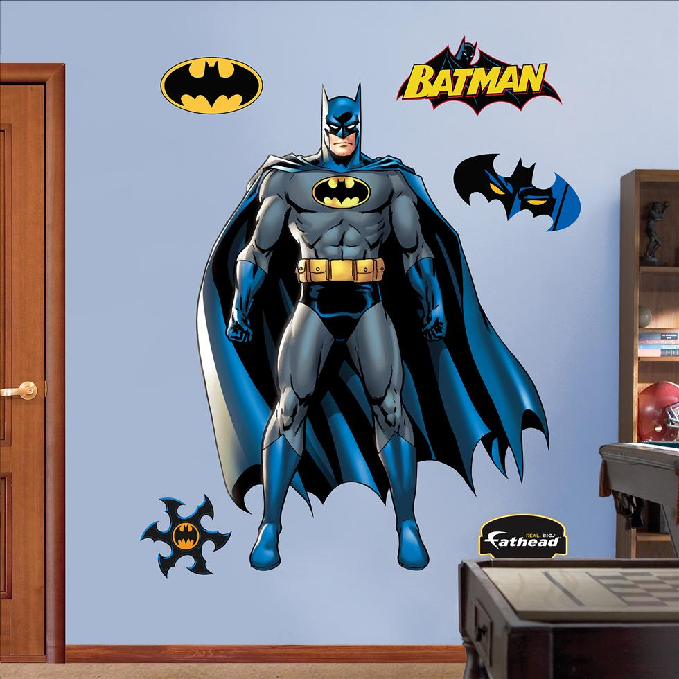 Batman fathead for Batman wall mural decal
