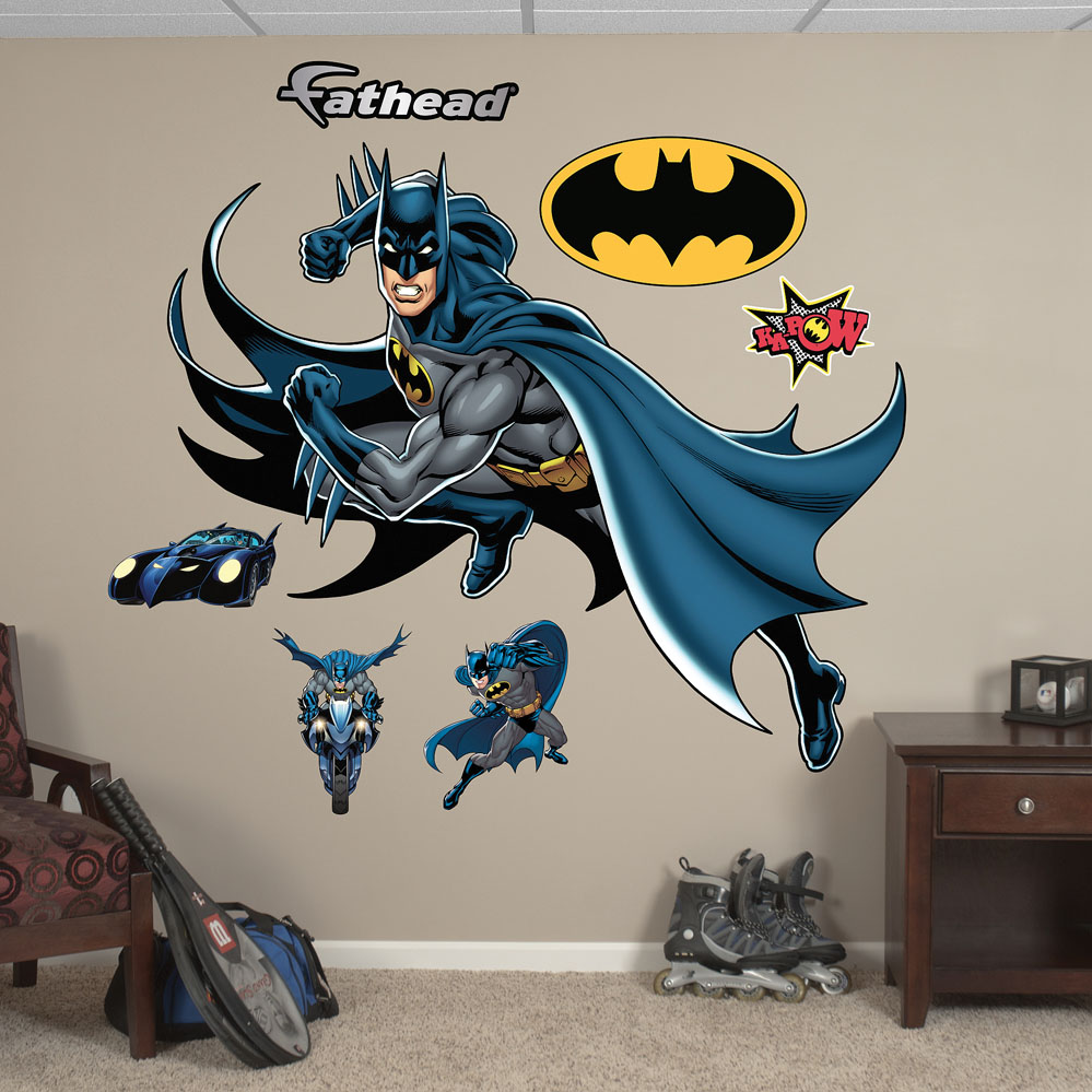 Batman in Action REALBIG Wall Decal