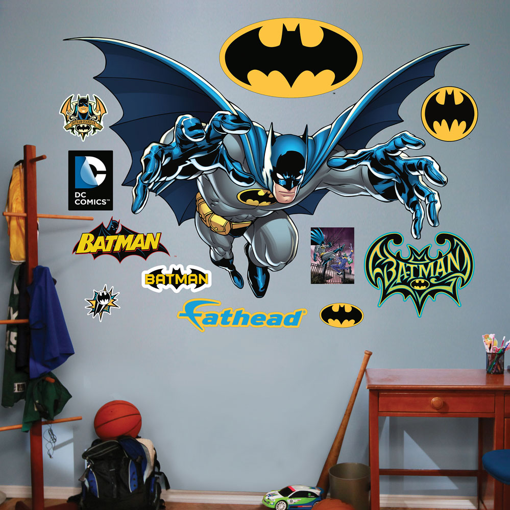 Batman Leaping REALBIG Wall Decal