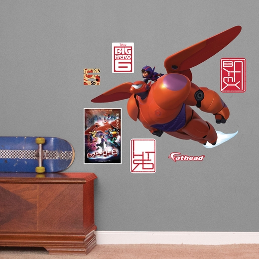 Baymax And Hiro JUNIOR Wall Decal