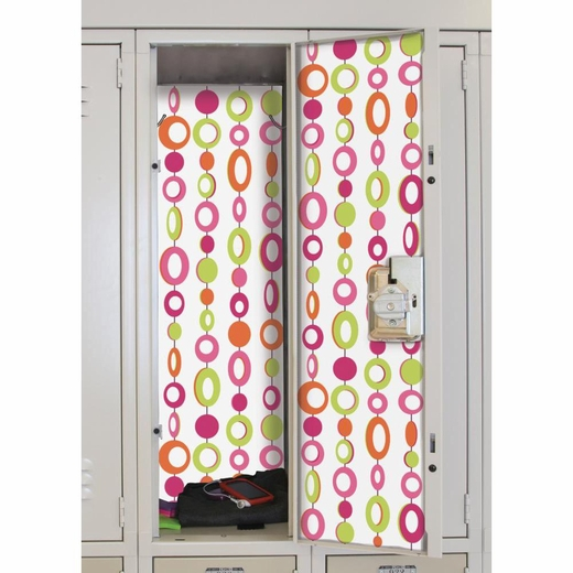 Beaded Curtain Peel And Stick Locker Skins