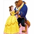 Belle And Beast Lifesized Standup