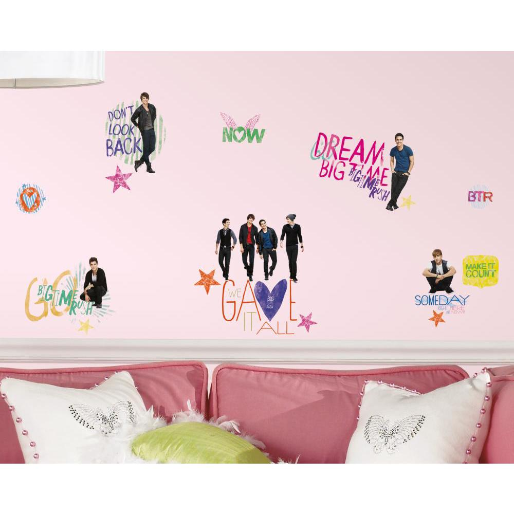 Big Time Rush Peel And Stick Decal