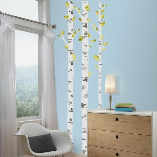 Birch Trees Giant Decal