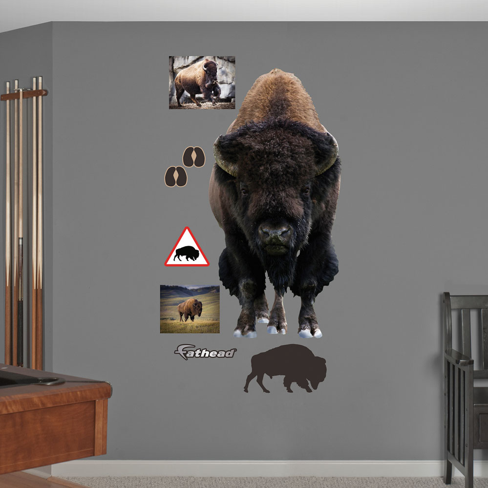 Bison REALBIG Wall Decal