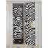 Black And White Zebra Peel And Stick Locker Skins