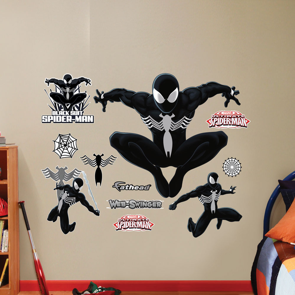 Black Suit Ultimate Spider-Man REALBIG Wall Decal