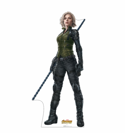 Black Window Avengers Infinity War Cardboard Cutout