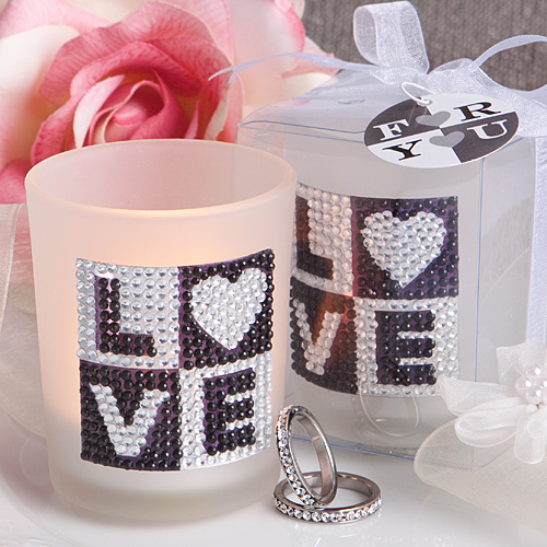 Bling Collection Candle Holder Favors