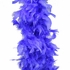 Blue Feather Boa (6', 60 grams)