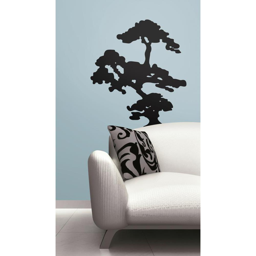 Bonzai Tree Peel And Stick Giant Decal