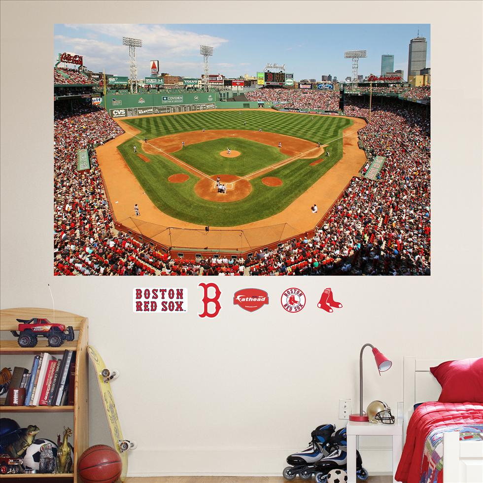 Boston Red Sox Fenway Park Stadium Mural-Fathead