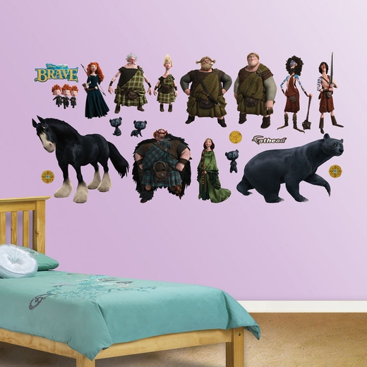 Brave Collection REALBIG Wall Decal