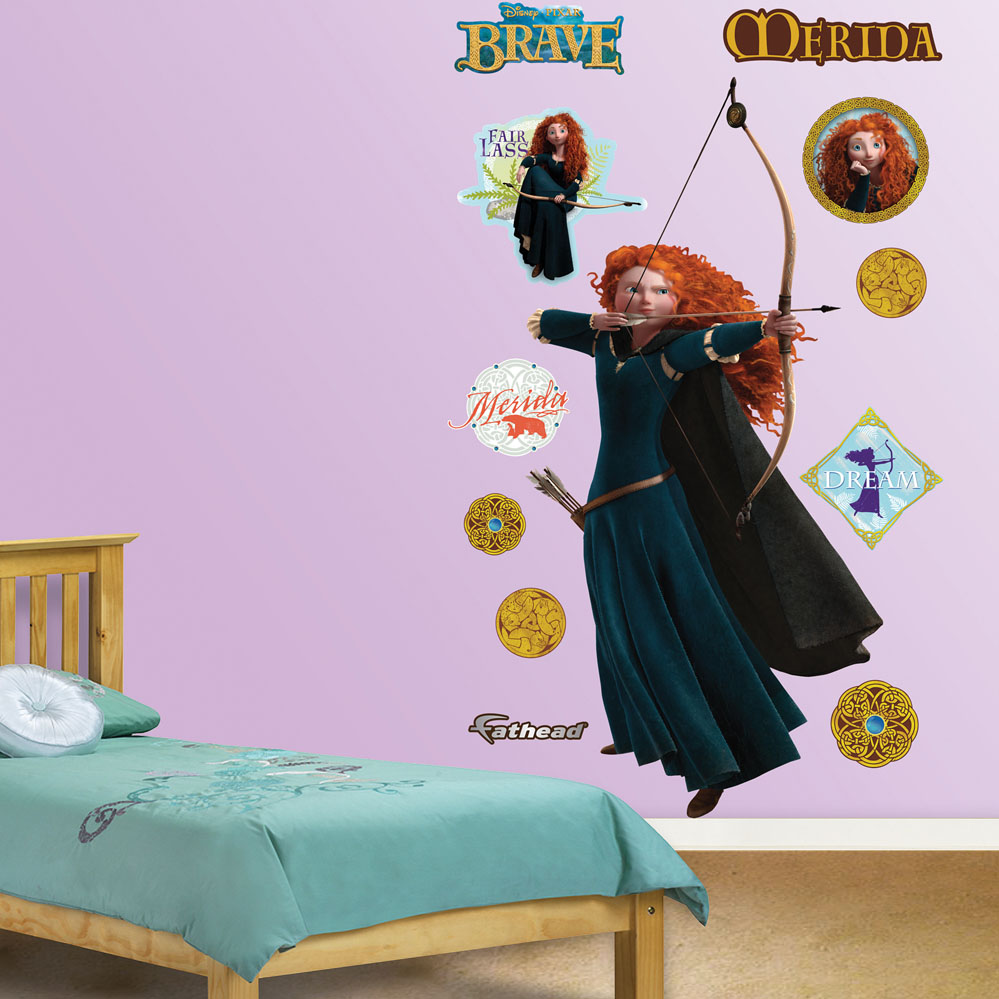 Brave Merida REALBIG Wall Decal
