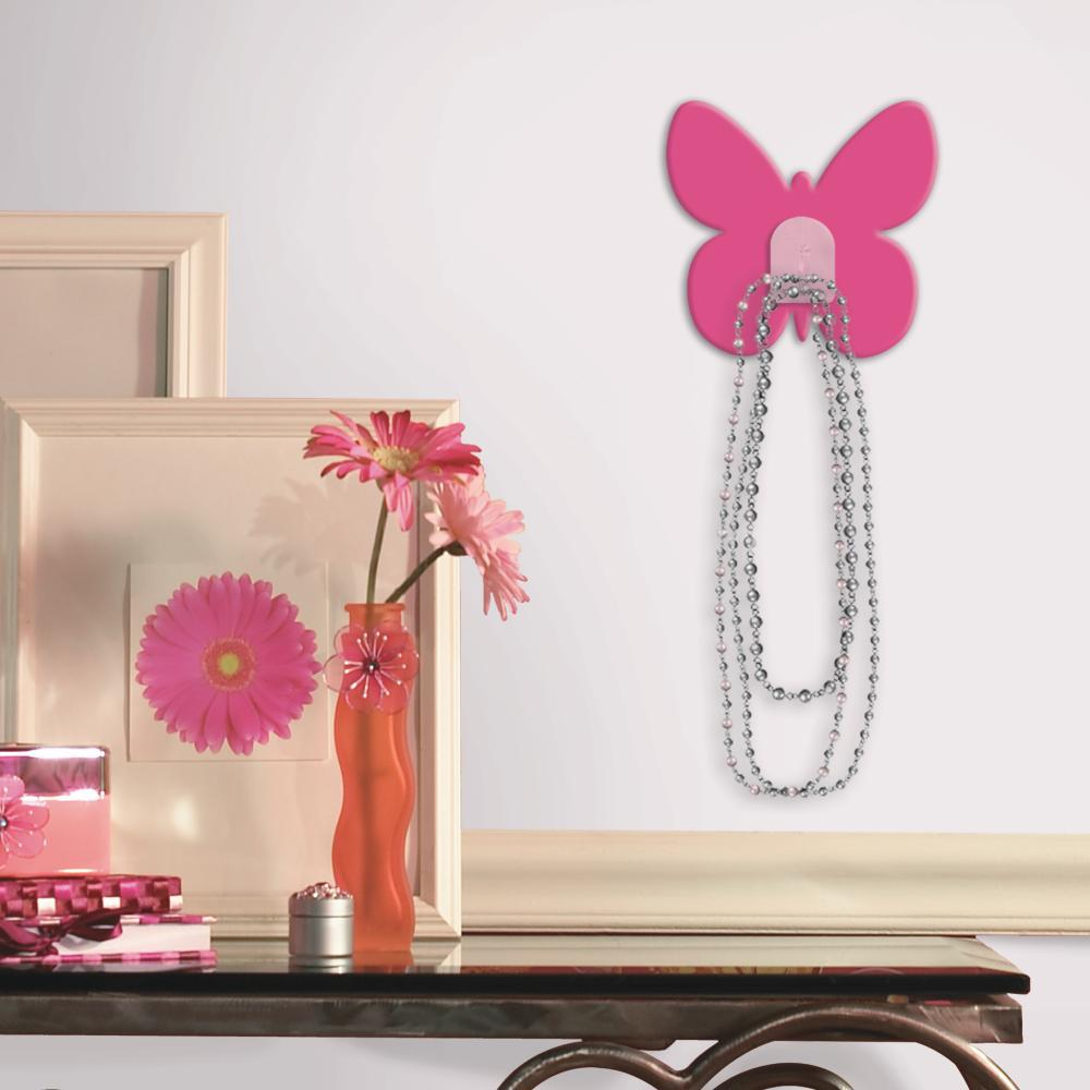 Bright Pink Butterfly Magic Hook