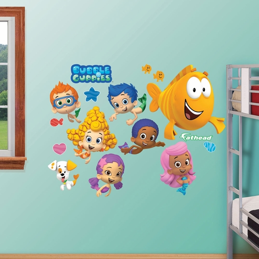Bubble Guppies Collection REALBIG Wall Decal