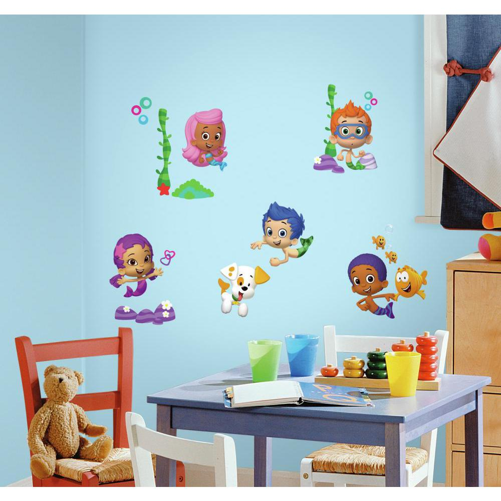 Bubble Guppies Decal