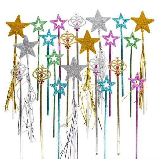 Bulk Princess Wand Assortment