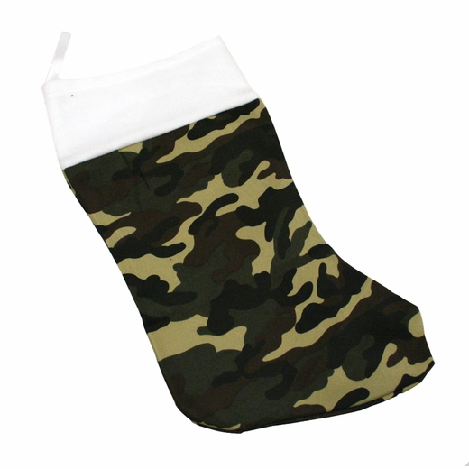 Camouflage Chirstmas Stocking
